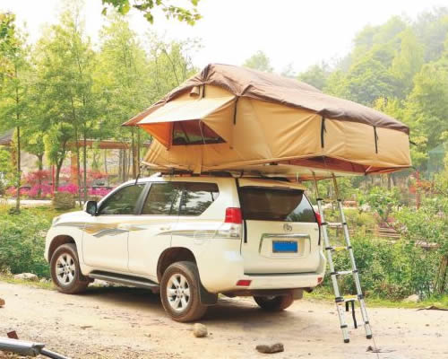 Self-drive rooftop tent 4x4 vehicle